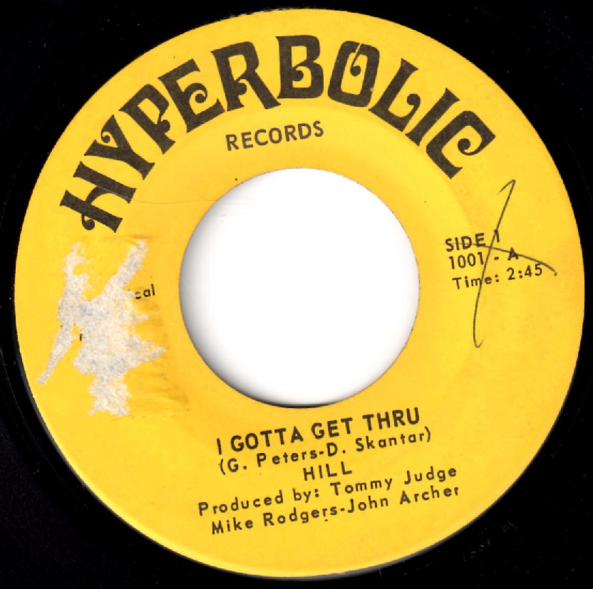 Just one of many collectable records on Hyperbolic