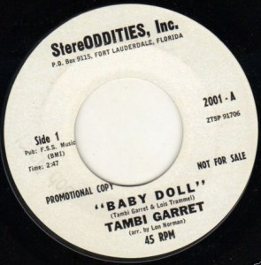 Recorded in Fort Lauderdale in December 1963.  FSS stood for Fletcher Smith Studios.