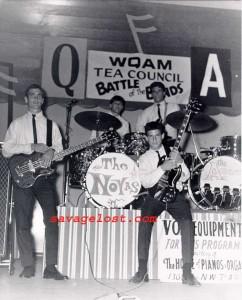 The Novas, at the WQAM Tea Council Battle of the Bands