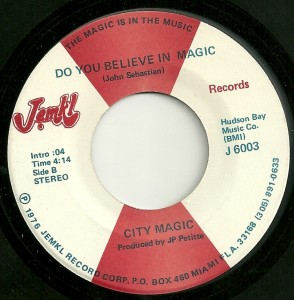 City Magic: A soul version of a '60s rock classic, on JEMKL's 6000 series