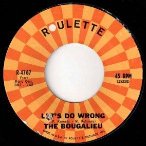1-2 Bougalieu! The cleaner version of this classic 45.