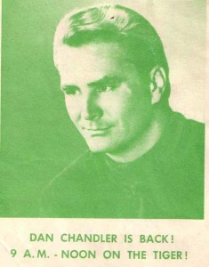 WQAM's Dan Chandler in 1967