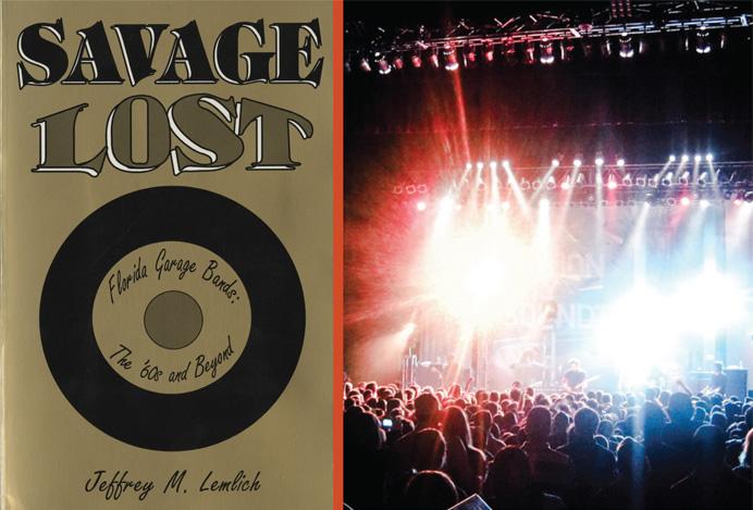 HistoryMiami flyer for Jeff Lemlich Savage Lost '60s garage band presentation