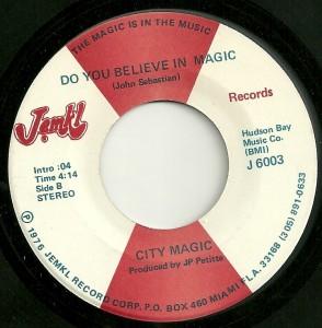 City Magic: A soul version of a '60s rock classic, on JEMKL's 6000 series