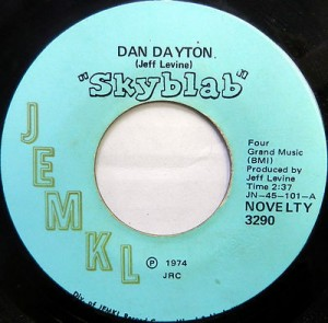 Jeff Levine produced several break-in novelty tracks for JEMKL, including this one with former WFUN disc jockey Dan Dayton