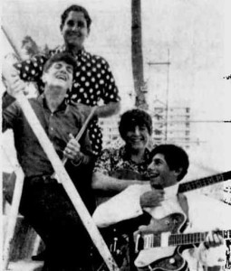 Four members of the Echoes Of Carnaby Street, 1966