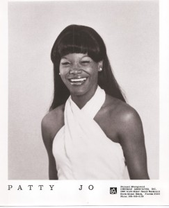 Early promotional picture.  Note the spelling of her name as Patty Jo.