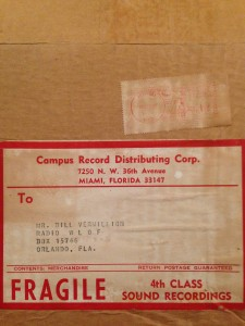 Miami's Campus Distributors also provided a good amount of records to Florida radio stations.
