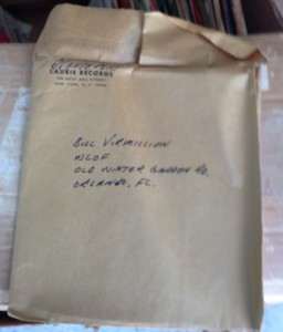 Here's a small package from Laurie Records in New York.